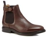 Jeff Banks Brown 'harper' Chelsea Boots
