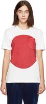 Blue Blue Japan White & Red Flag T-Shirt