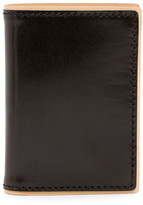 J.fold J-Fold Two-Tone Folding Leather Card Case
