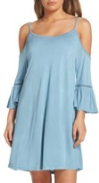 Leith Women's Cold Shoulder Cover-Up Dress
