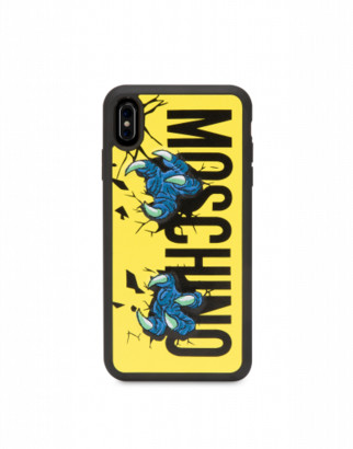 Moschino Cover Iphone Xs Max Monster Hands Woman Yellow Size U It - (one Size Us)