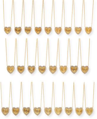 Tai Heart Letter Pendant Necklace