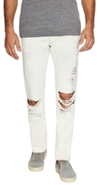 True Religion M Faded & Distressed Slim Jeans