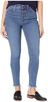 Madewell 10 High-Rise Skinny Jeans in Mackey Wash (Mackey Wash) Women's Jeans