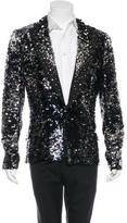 Dolce & Gabbana Metallic Embellished Blazer