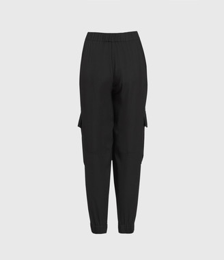 AllSaints Frieda Mid-Rise Pants