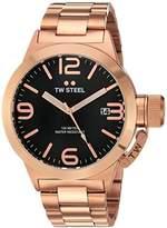 TW Steel Men's CB171 Analog Display Quartz Rose Gold Watch