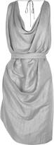Vivienne Westwood Draped linen-blend dress
