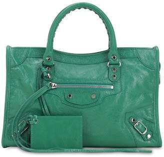 hot sales for whole family the best attitude Balenciaga City Bag Green - ShopStyle