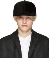 Attachment Black Faux-Fur Cap