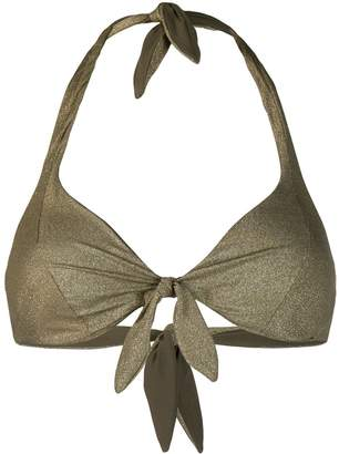 MC2 Saint Barth Camille knotted bikini top