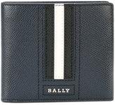 Bally striped wallet