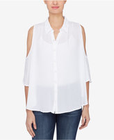 Catherine Malandrino Catherine Cold-Shoulder Shirt