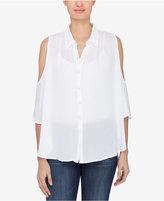 Catherine Malandrino Cold-Shoulder Shirt