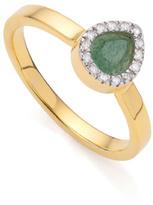 Monica Vinader Naida Mini Lotus Ring