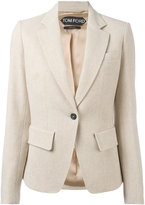 Tom Ford single-button blazer - women - Silk/Polyamide/Mohair/Virgin Wool - 38