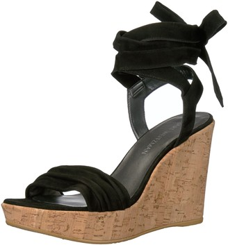 Stuart Weitzman Women's Backagain Wedge Sandal