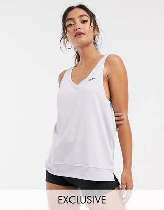 Reebok training activechill tank top in grey