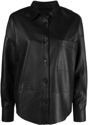 S.W.O.R.D 6.6.44 Pointed Collar Shirt Jacket