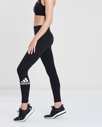 adidas Women's Black Tights - Must Haves Badge of Sport Tights - Women's - Size XS at The Iconic