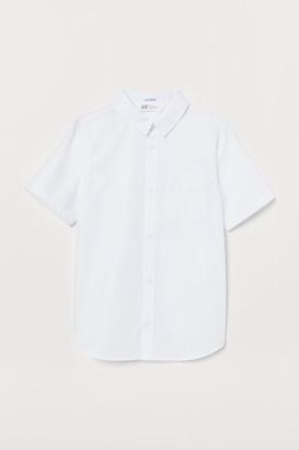 H&M Easy-iron Shirt - White