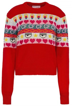 Chiara Ferragni norwegian Sweater