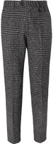 Oliver Spencer - Fishtail Houndstooth Wool Trousers
