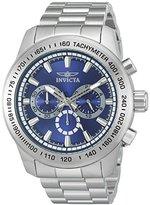 Invicta Men's 'Speedway' Quartz Stainless Steel Casual Watch (Model: 21795)