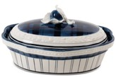 Fitz & Floyd Earthenware Bristol Covered Serving Dish