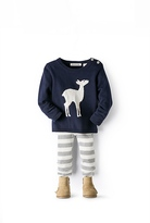 Country Road Fawn Knit Intarsia