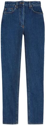 The Row Kaila High-rise Slim-leg Jeans