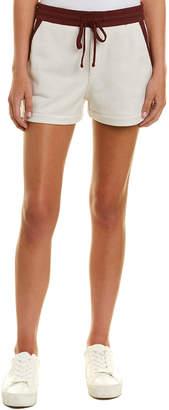 James Perse Contrast Colored Sweatpant Short