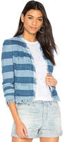 AG Adriano Goldschmied Capucine Jacket in Blue. - size L (also in S,XS)