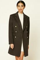 Forever 21 FOREVER 21+ Wool-Blend Overcoat