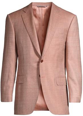 Canali Woven Wool Sport Coat