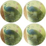 Pier 1 Imports Peacock Plate Set