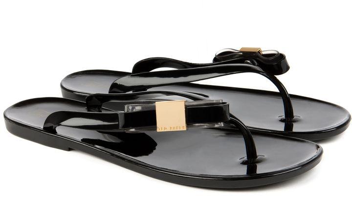 Ted Baker Hatha side bow flip flop