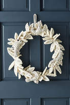 Anthropologie Stitched & Felted Songbird Wreath