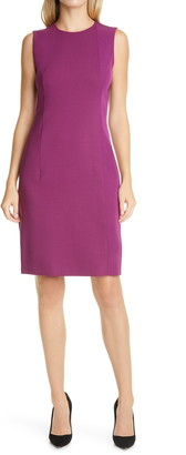 HUGO BOSS Dipa Sleeveless Sheath Dress