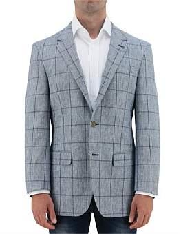 Daniel Hechter Pow Linen Textured Sportscoat