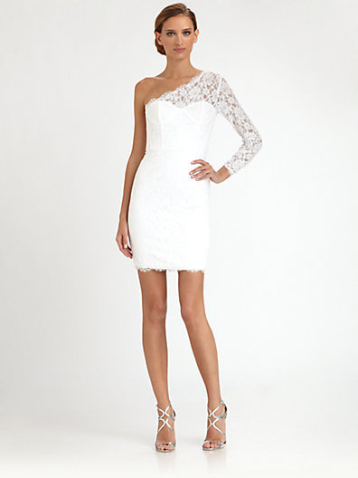 BCBGMAXAZRIA Arlena Lace Dress