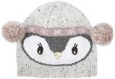 Accessorize Lined Pippa Penguin Pom Pom Beanie Hat