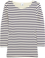 Iris & Ink Striped cotton top