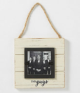 Mud Pie Wedding Collection The Guys Door Hanger Frame