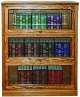 Forest Designs Traditional Lawyers Bookcase: 36W x 35H (Three Doors) x 13D 35h 3 doors
