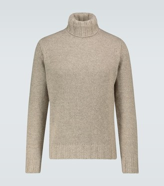 Lardini Wool blend turtleneck sweater