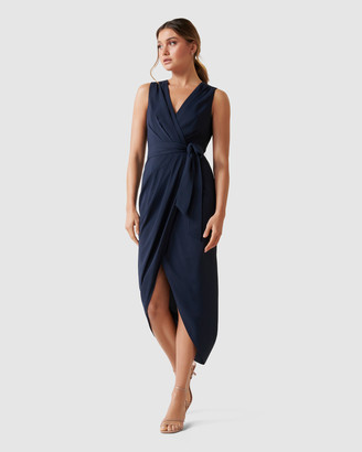 Forever New Liza Wrap Midi Dress