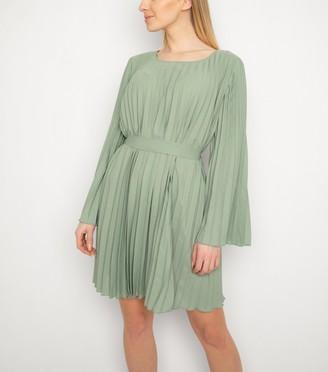 New Look Gini London Pleated Dress