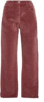 3x1 Higher Ground Cropped Velvet Pants