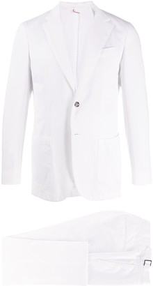 Dell'oglio Notched Lapels Single-Breasted Suit